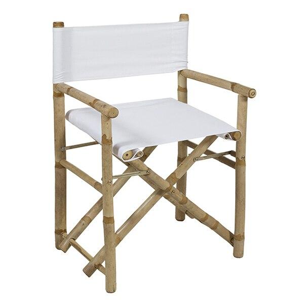 Chair (89 X 58 X 45 Cm) Bamboo White