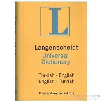 Langenscheidt Dictionary of English Turkish English Turkish Pocket Dictionary-H. J. Kornrumpf dictionary of law