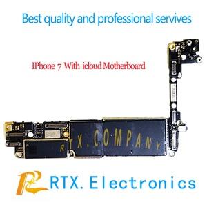 Image 5 - Iphone 6 6Plus 6S 6SP 7P 7 7plus 8 8Plus X Xsmax płyta główna z płytą główną Icloud kompletny zamek ID dla praktyki FIX techniczny