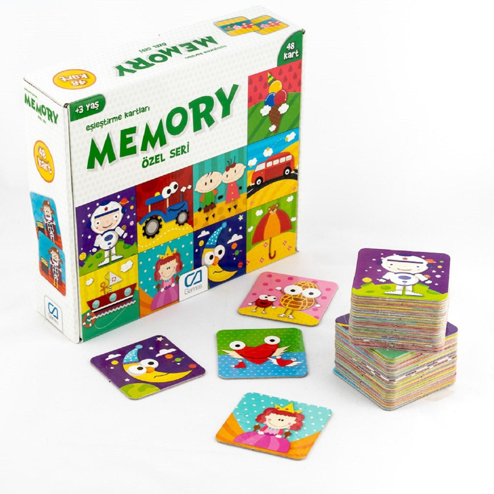 Ebebek Ca Games Memory Special Series 48 Card 3 Years+