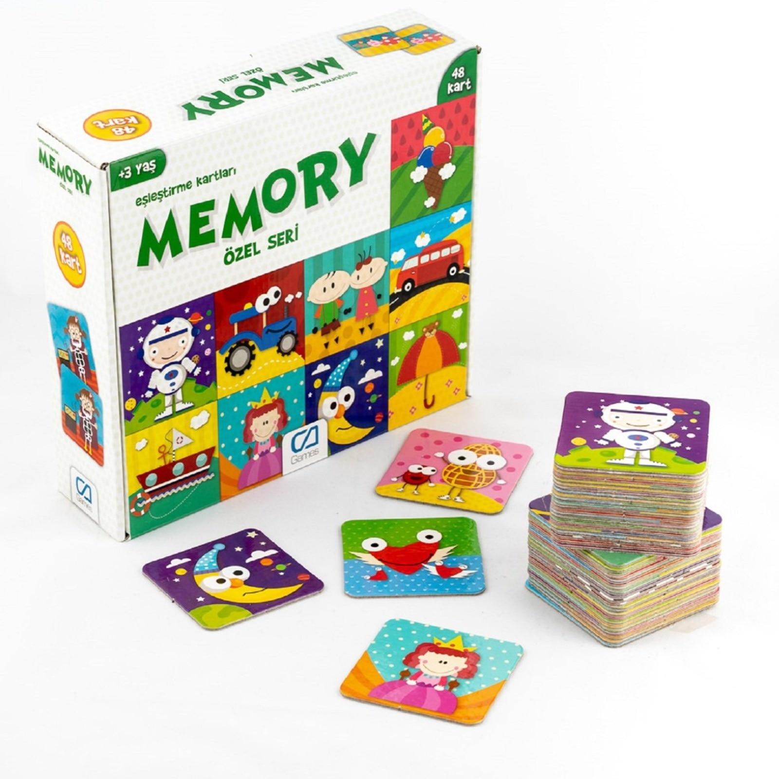Ebebek Ca Games Memory Special Series 48 Card 3 Years+