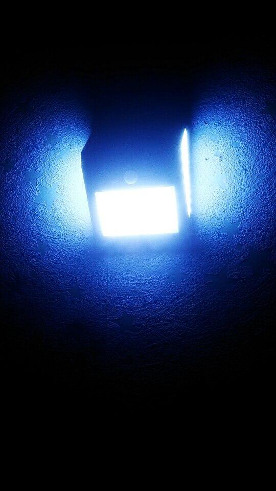 100/144 LED Outdoor Solar Wall Lamp PIR Motion Sensor Waterproof Light Garden Path Emergency Security Light 3 Sided Luminous