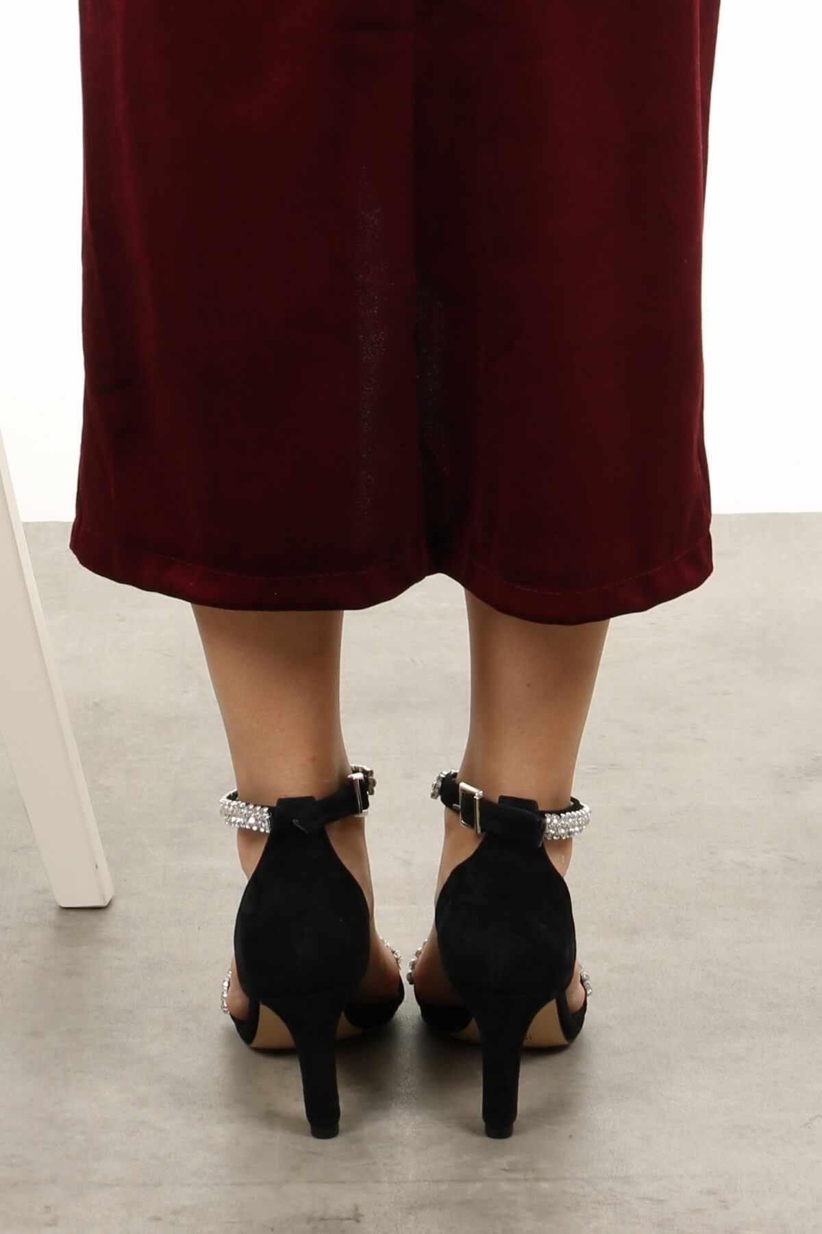 Bao Da Chính Hãng Paris Đen Ngắn Gót Tối Giày Nữ Bơm Giày Cao Gót Giày Nữ Mùa Hè Da Thật Chính Hãng Da Tiệc Cưới
