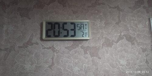 -- Relógio parede digital