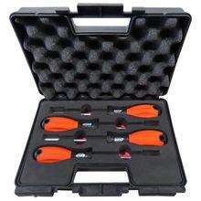 Brio ручки насадки Отвертки Набор шестигранный ключ гайка ремонт и Электроинструмент пластиковый пакет Набор Сделано в Европе 7-8-10-13x125 размеры