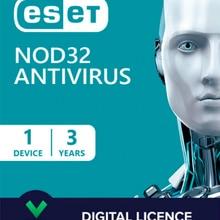 ESET NOD32 Antivirus  2021 I 1 Device 3 Year I Key Delivery
