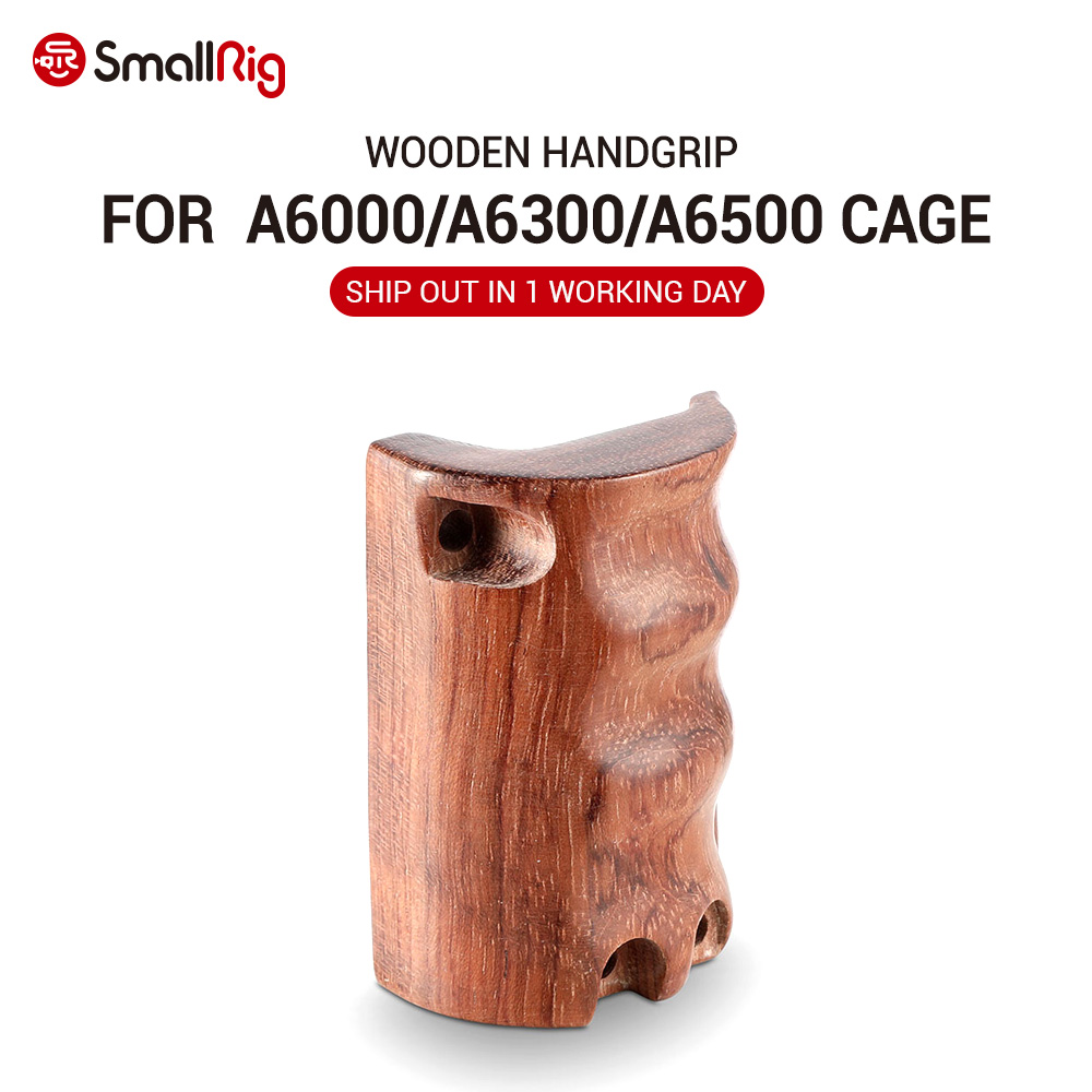 <font><b>SmallRig</b></font> Camera Wooden Handgrip for Sony A6000 / A6300 / A6500 ILCE-6000/ ILCE-<font><b>6300</b></font> / ILCE-6500 <font><b>SmallRig</b></font> cage - 1970 image