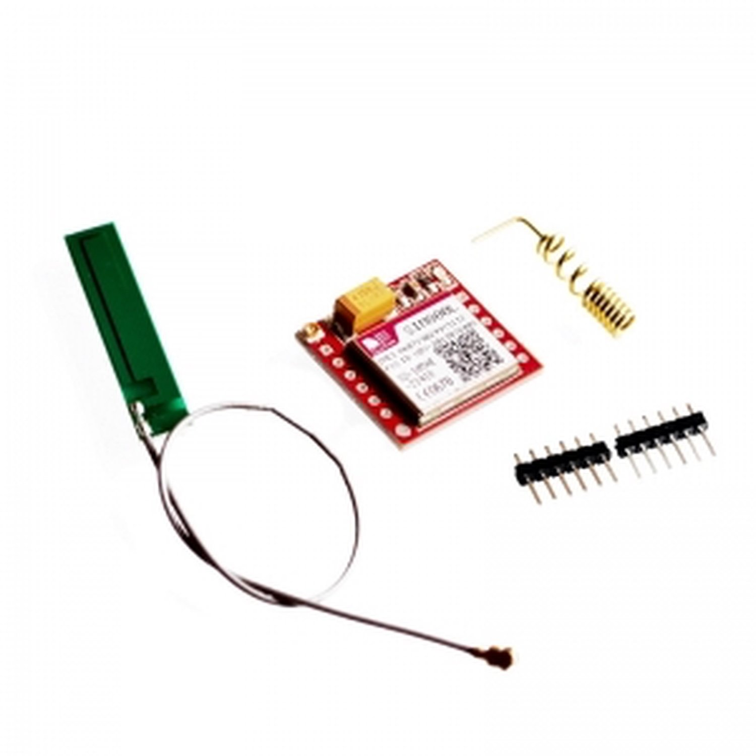 MINI SIM800L GPRS GSM Module PCB Antenna SIM Board for MCU Arduino Quad-Band цена и фото
