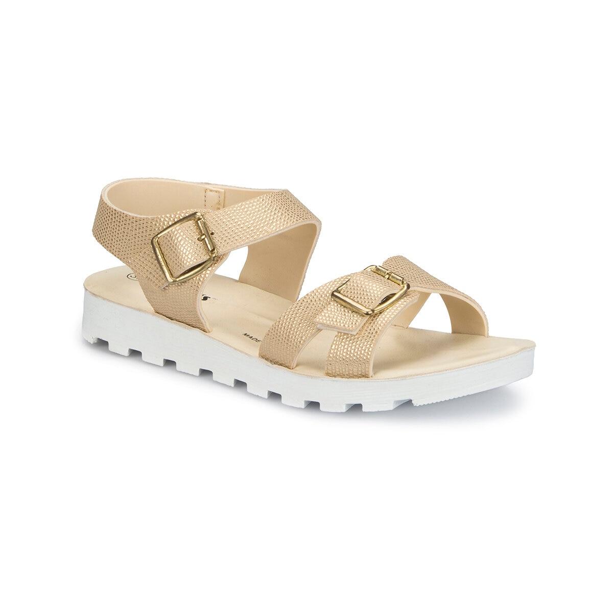 FLO 81.311703.Z Gold Women Sandals Polaris