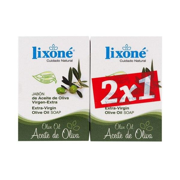 Soap Set Olive Oil Lixoné (2 Pcs)