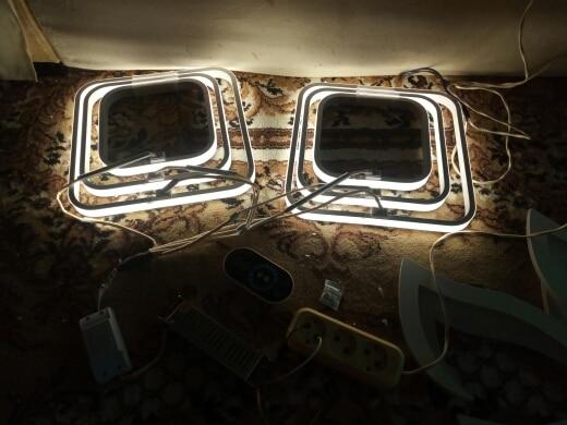 Luzes de teto Conduziu Lâmpada Quarto