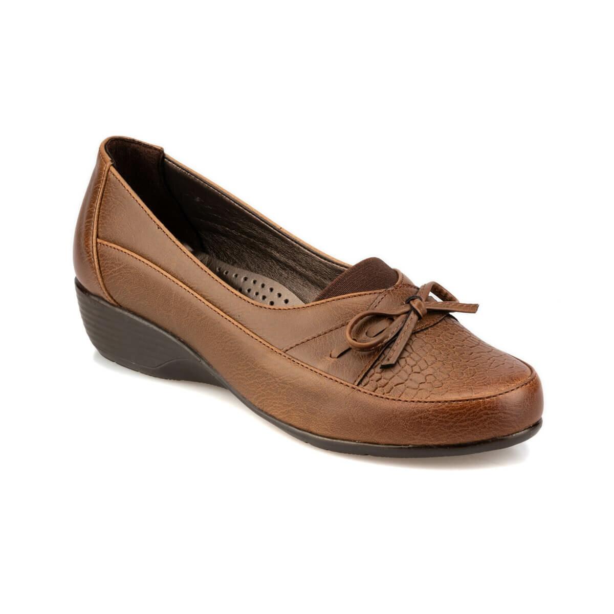 FLO 92.151019.Z Tan Women 'S Wedges Shoes Polaris