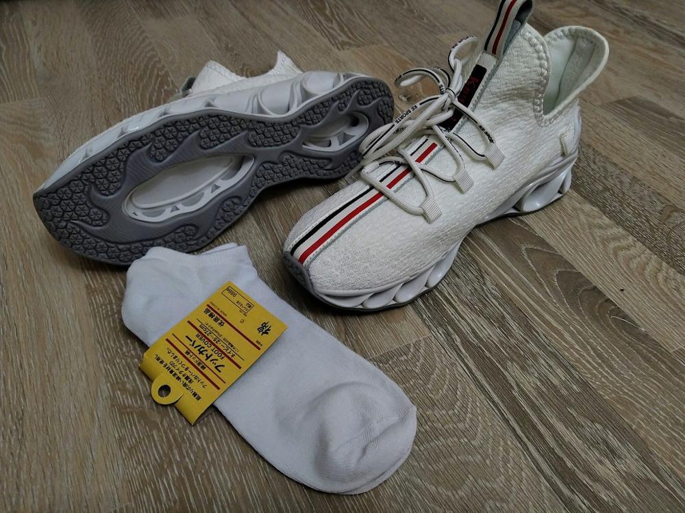Tênis de corrida Homens Respirável Calçados