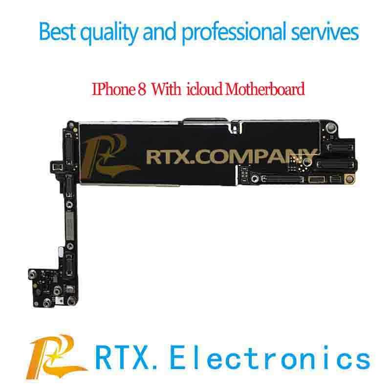 Para o iphone 6 6 p 6 s 6sp 7 7 pplus 8 mais x xs max placa-mãe com icloud mainboard completo id lock para pracise fix técnico