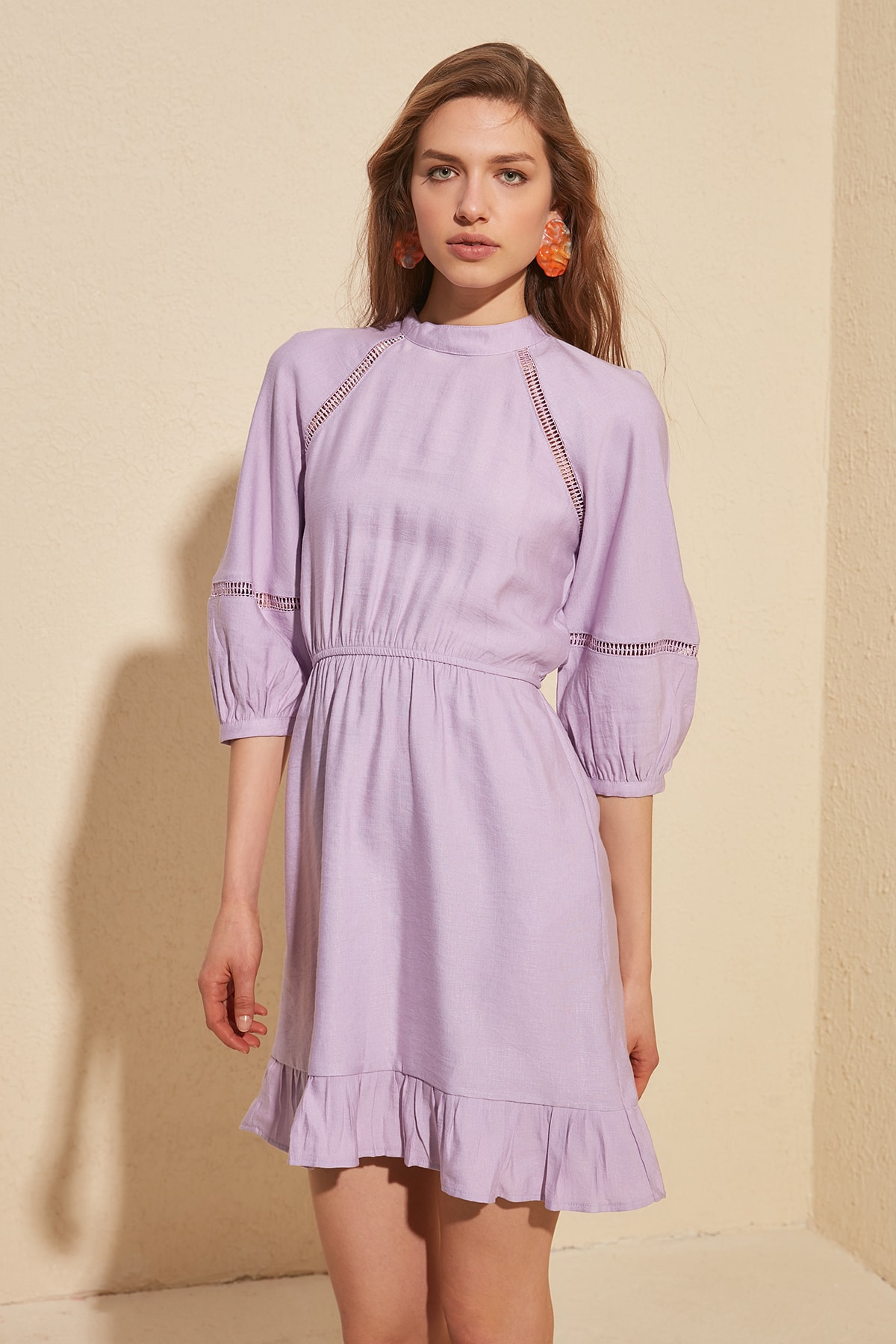 Trendyol Sleeve Detail Dress TWOSS20EL1254