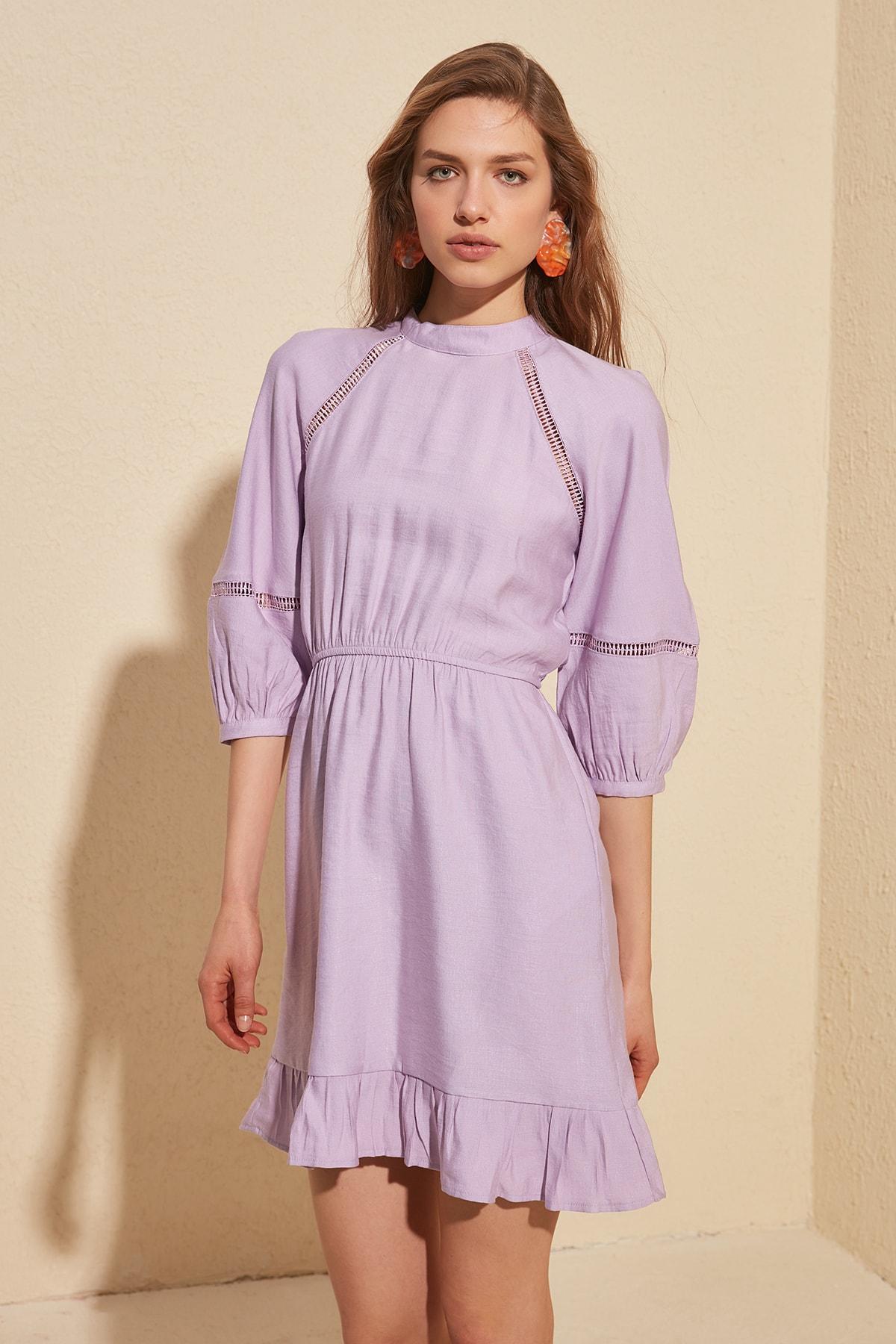 Trendyol Sleeve Detail Dress TWOSS20EL1254