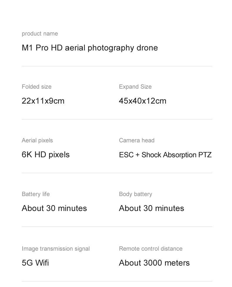 U0be919cb85c042b49818a601bd768c800 - 2021 M1 Pro 2 drone 4k HD mechanical 2-Axis gimbal camera 5G wifi gps system supports TF card drones distance 1.6km