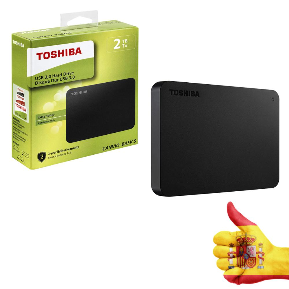 HARD external TOSHIBA CANVIO BASICS <font><b>2TB</b></font> - <font><b>2.5</b></font>