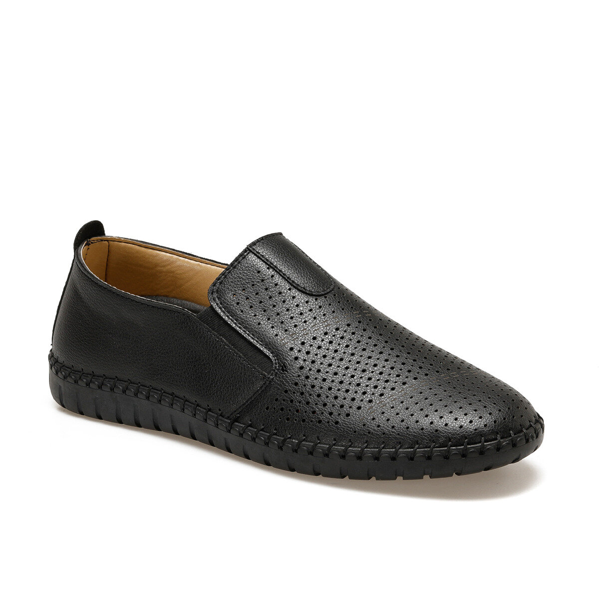 FLO AL-20 Black Men 'S Classic Shoes Flexall