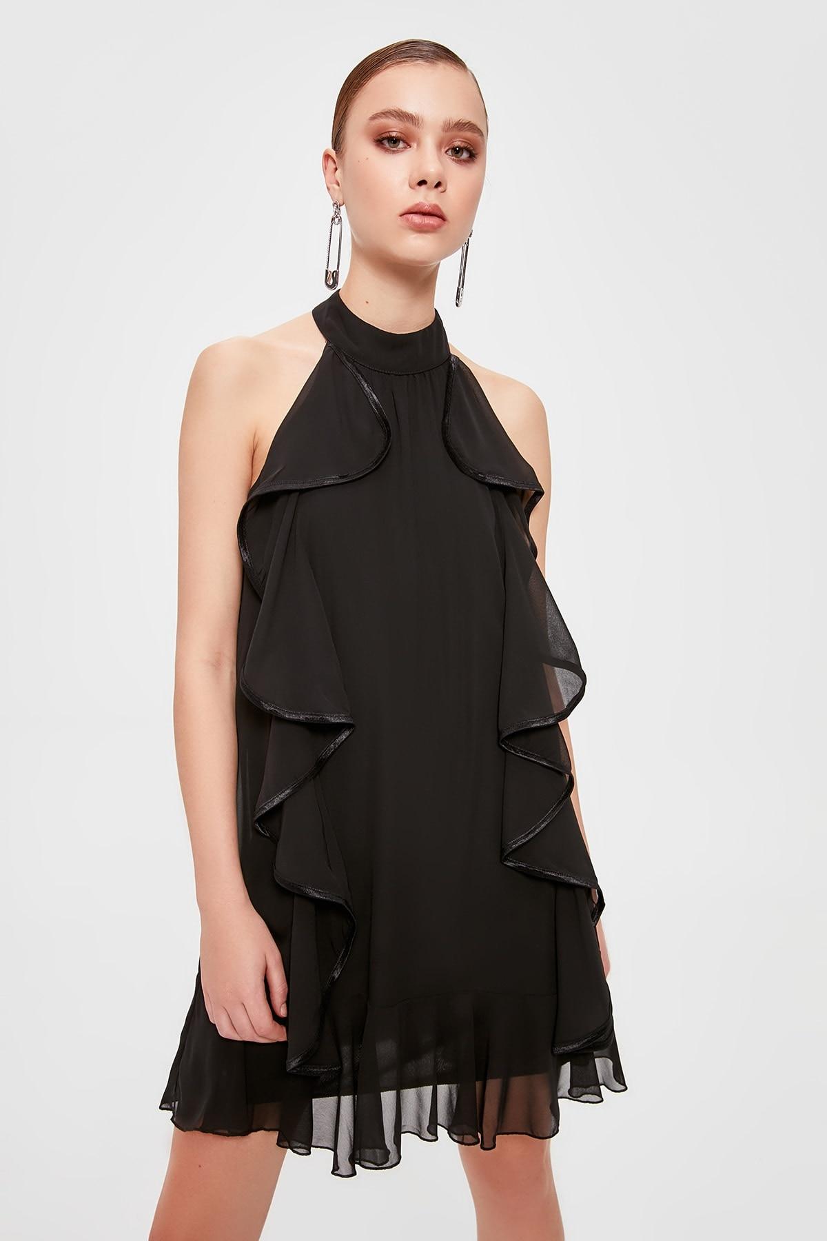 Trendyol Flounces Dress TPRSS20EL0080