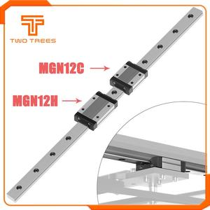 NEW 3D Printer Linear Guide Core xy MGN12 100 150 200 250 300 350 400 450 500 550 600mm linear rail + MGN12C or MGN12H carriage(China)
