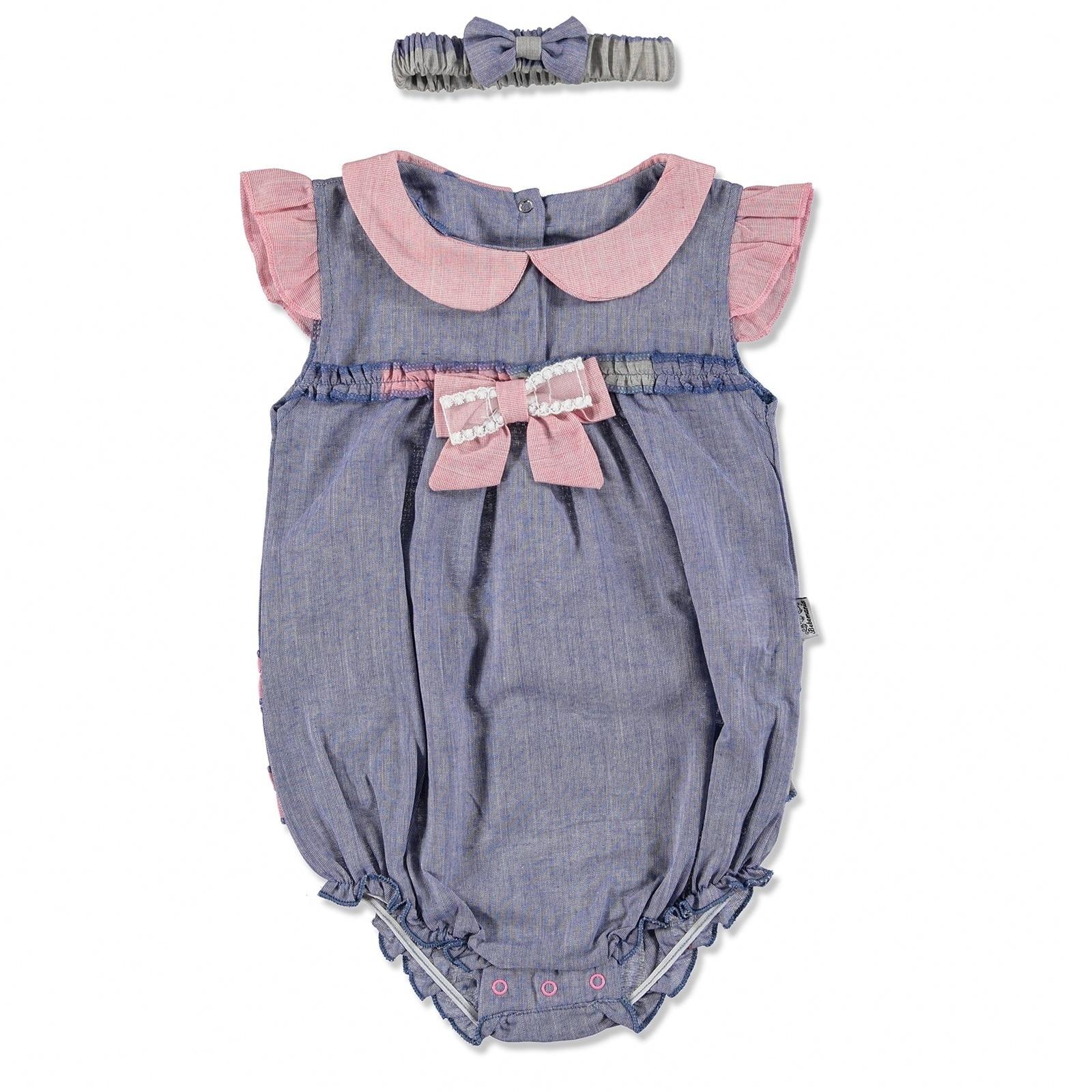 Ebebek Bebemania Summer Baby Girl Rainbow Bodysuit