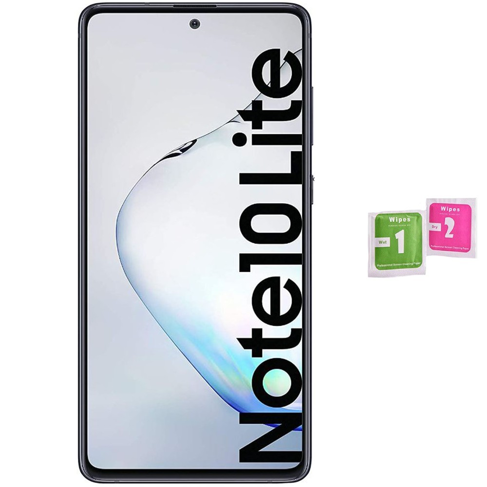 1x Tempered Glass Screen Protector For For SAMSUNG GALAXY NOTE 10 LITE Not Covers All Tempered Glass