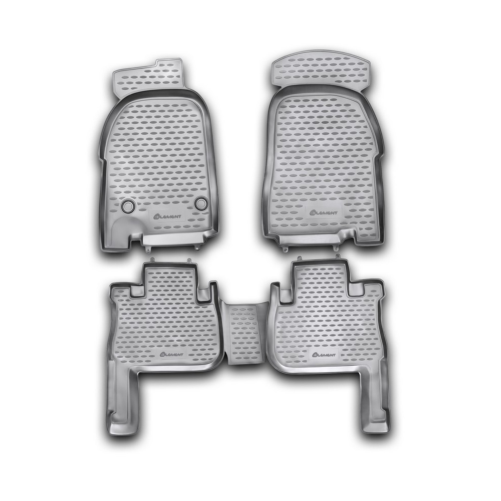 Floor mats for GREAT WALL Wingle 3  2007 >/2011 4 PCs NLC.59.11.210kh|  - title=
