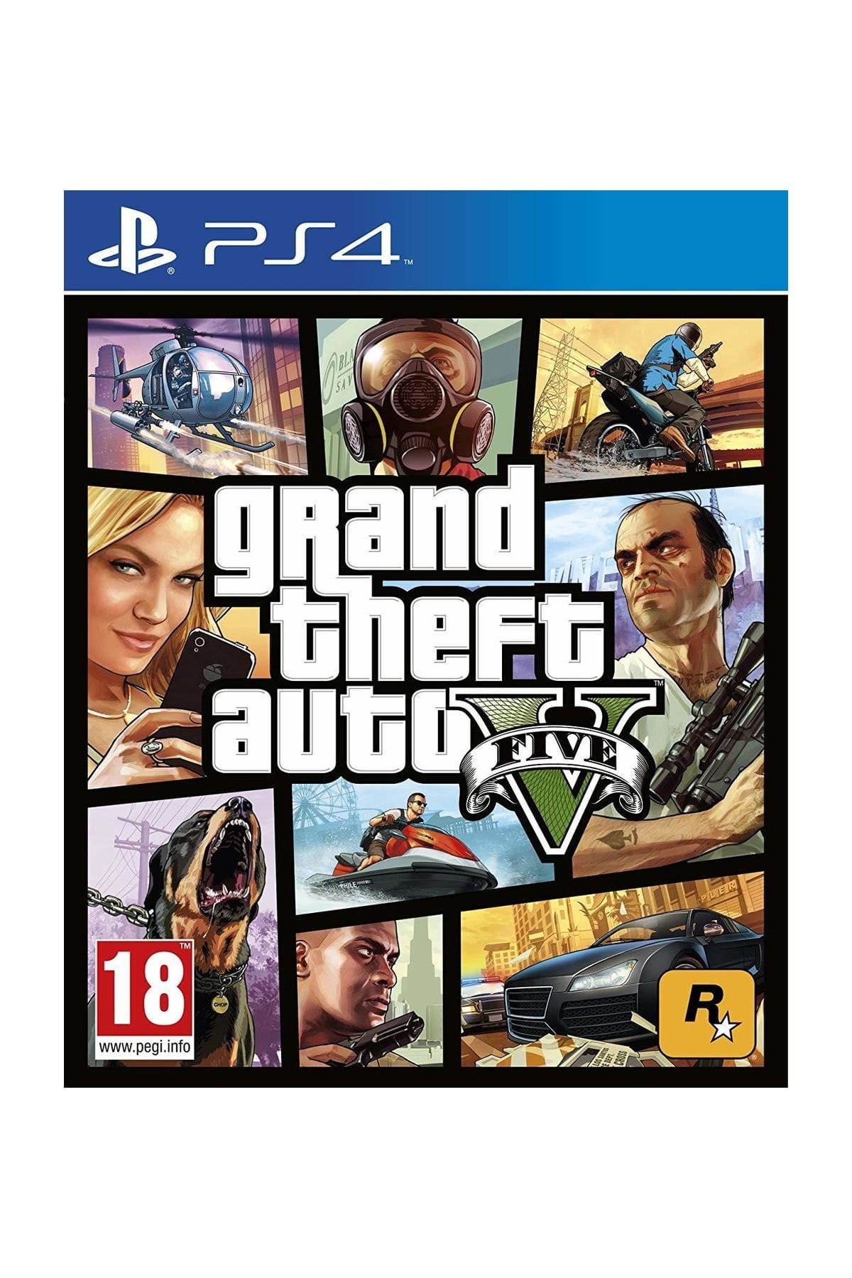 RockStar Games Grand Theft Auto 5 PS4 Game Playstation 4