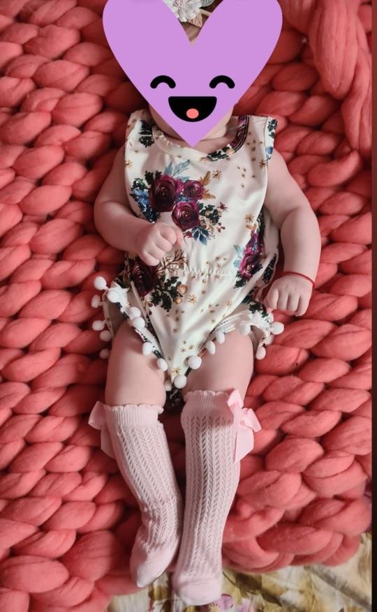 BalleenShiny Baby Girl Socks Toddler Baby Bow Cotton Mesh Breathable Socks Newborn Infant Non-slip Baby Girls Socks 0-3 years photo review