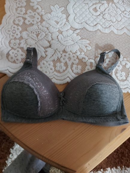 NEW Lingerie Set Sexy Intimates Bra Ladies Bra Size 40 42 44 46 48 D E Cup Underwear Floral Embroidery Lace Women Bra Panty photo review