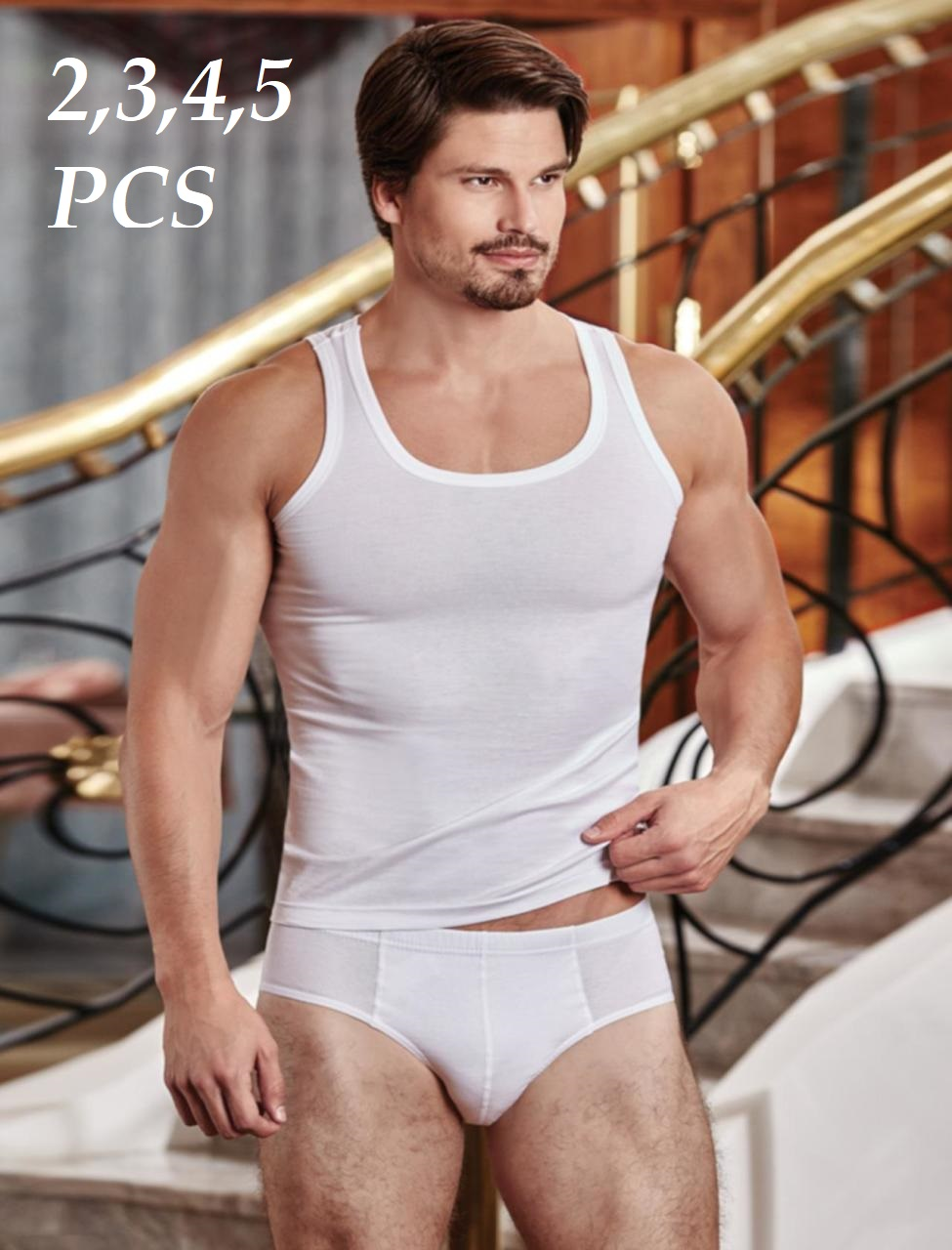 Men Briefs Cotton Breathable Padded Panties  Sexy Underwear Mesh  Slips Sexy Male Underpants