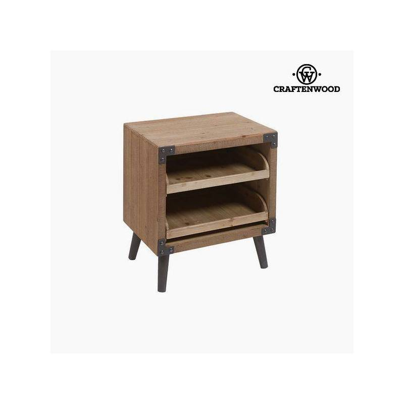 Bedside Table Fir (55x48x35 Cm) By Craftenwood