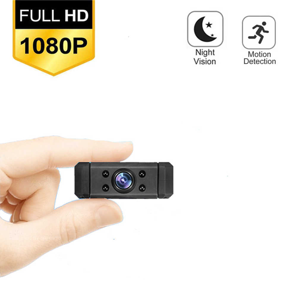 Mini cámara de acción de 8 horas de duración, Full HD, 1080P, cámara secreta, Mini cámara de acción Mini DVR Digital para deportes Mini DV oculta Espia
