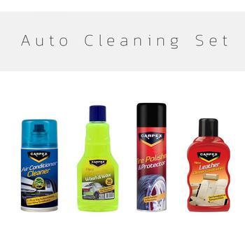 Auto Reinigung Set Carpex Reinigung Set Günstige Auto Wartung-in Auto-Wasch-Flüssigkeit aus Kraftfahrzeuge und Motorräder bei