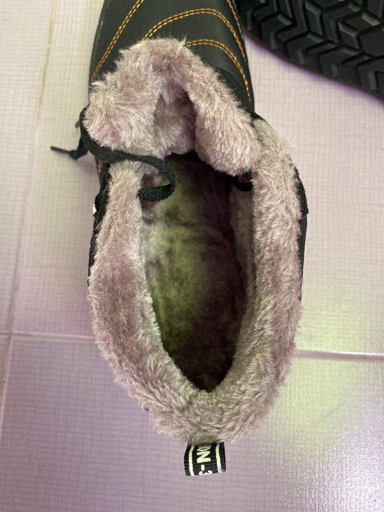 Bottines d'hiver super chaudes pour hommes photo review