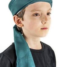 Turban Headwear Apparel-Accessories Child Green Decoration Cloth-Rolls Turkey Gift