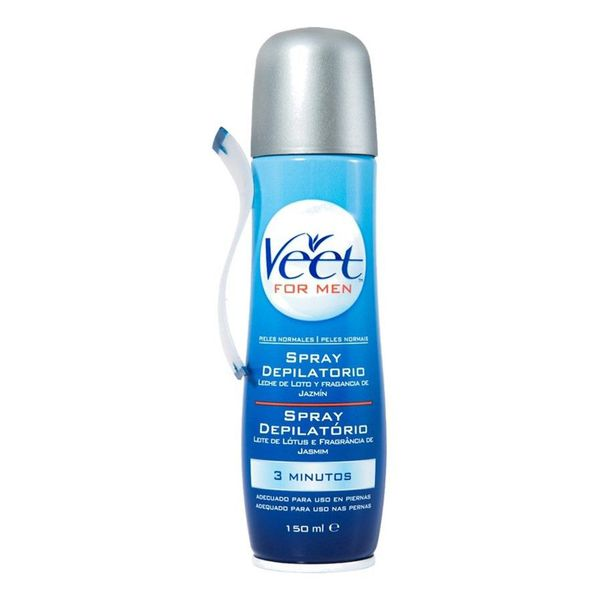 Veet Normal Skin Hair Removal Spray For Men 150 Ml Aliexpress