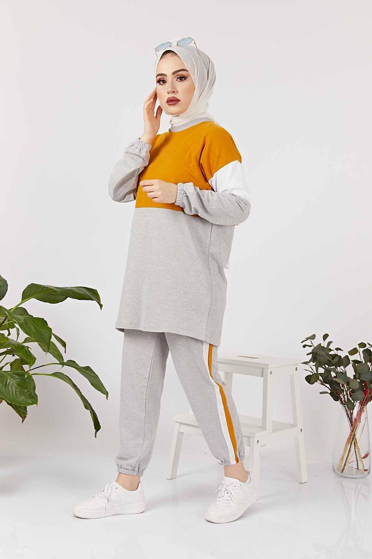 FESTMODA Woman Sports Outfit Islamic Suit Muslim Dress