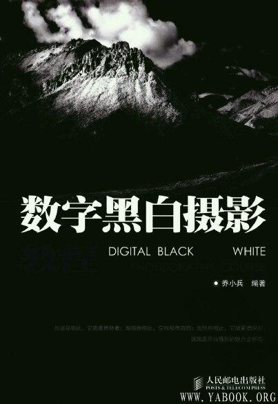《数字黑白摄影教程》封面图片