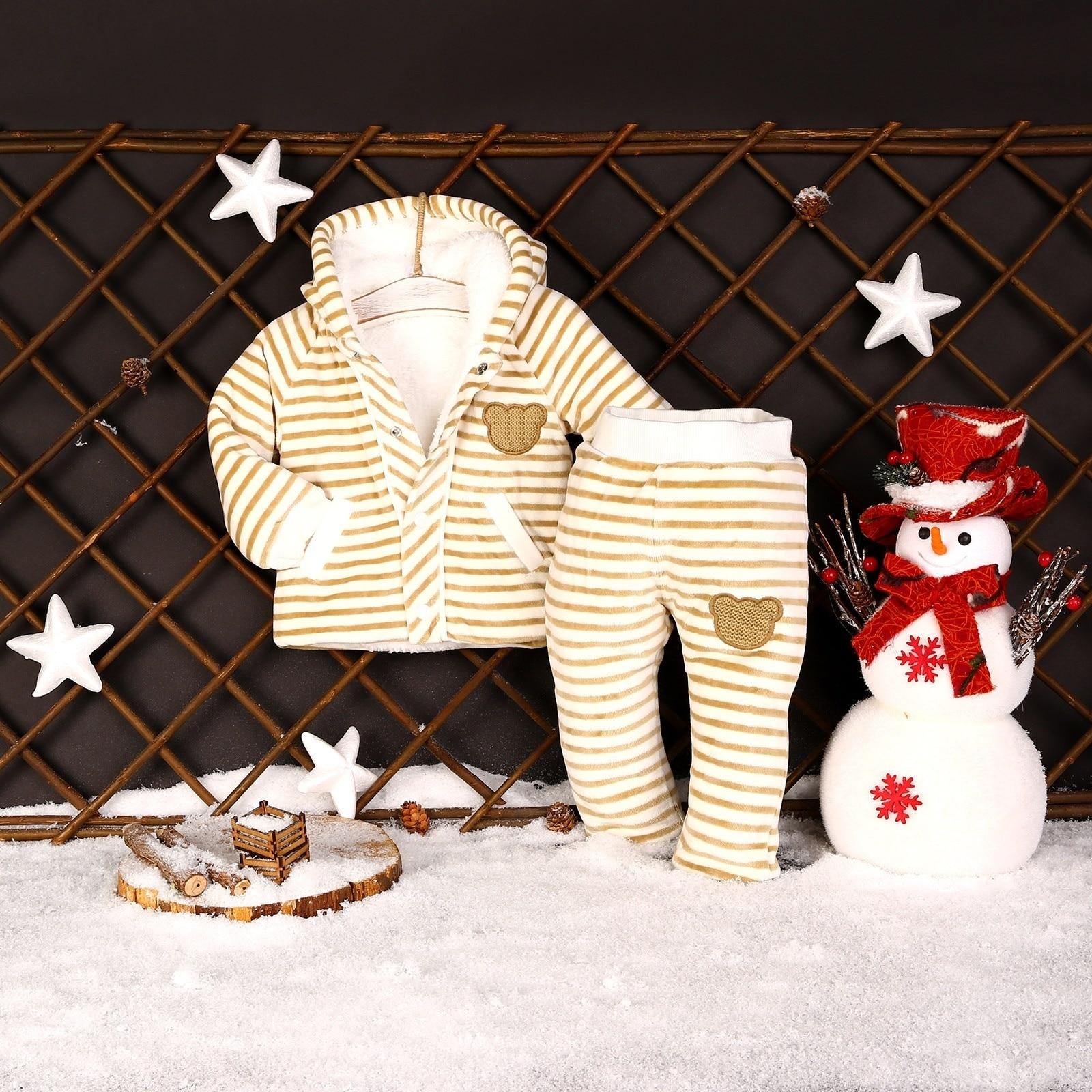 Ebebek For My Baby Ebebek Boy David Welsoft Sweatshirt Trousers 2 Pcs Set