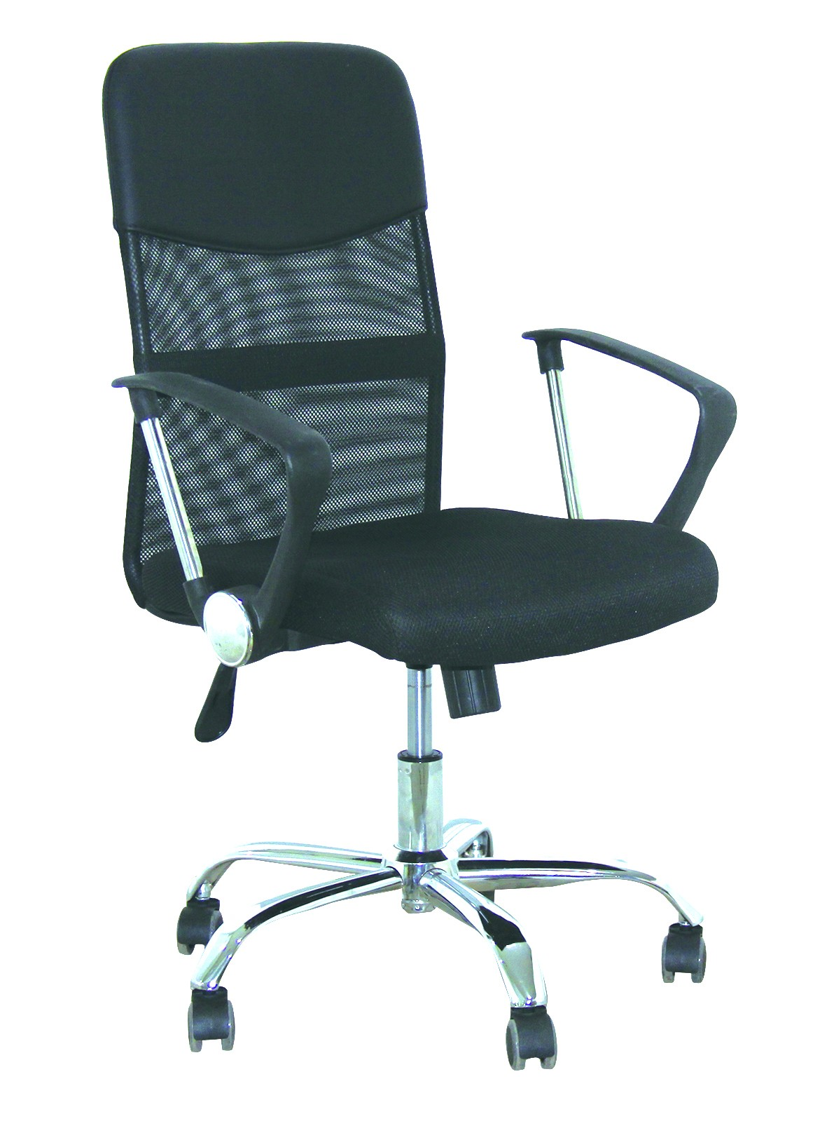 Office Armchair DISCOVER NEW (H), Mesh And Mesh Fabric Black