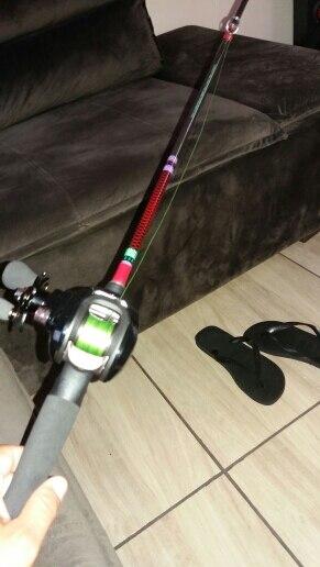 Varas de pescar Ultraleve Spinning 6-15lb
