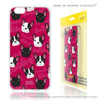 FunnyTech®Stand case for Xiaomi Silicone Mi5S Mini French Bulldogs red backgrounds