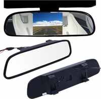 Mirror monitor for rear view camera СХ-500 5 HD Car display reverse image parking assistance rear view
