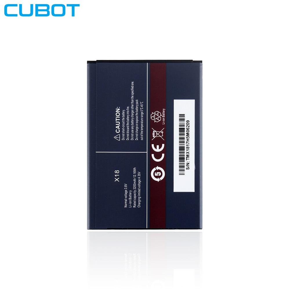 Оригинальный аккумулятор для смартфона Cubot X18 (3,8 в, 3200 мАч)