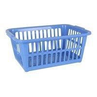 Cesta de lavanderia tontarelli 35 l plástico retangular|Bolsas de armazenamento dobráveis| |  -