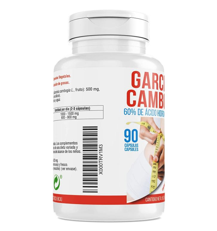 Burning fat | Garcina Cambogia | To Thin | Suppressor appetite | To Combine with diet and sports | 90 capsules Zentrum