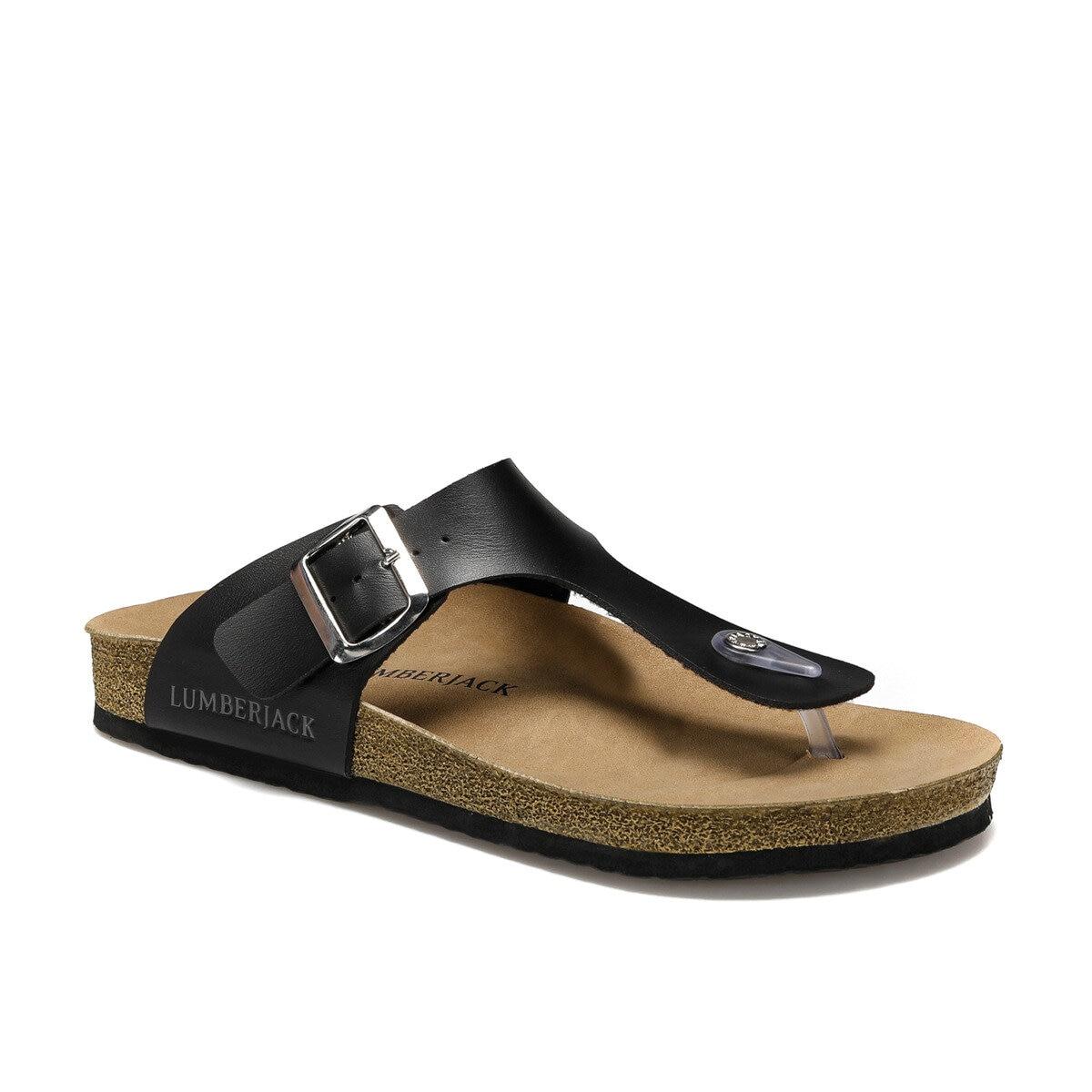 FLO Men Slippers Fashion Comfortable Summer Beach Pool Footwear Black Male Slippers Shoes Мужские тапочки BITE LUMBERJACK
