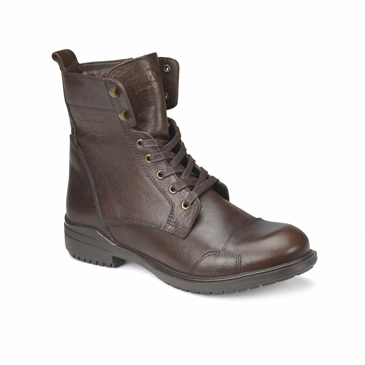 FLO MOTOREX Dark Coffee Men Boots LUMBERJACK